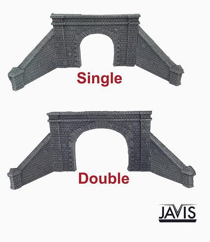 Javis N gauge Tunnel Mouths