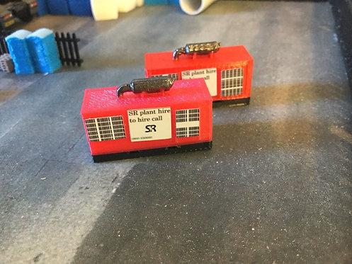 1.148 3D Printed Red Generator - 2pk
