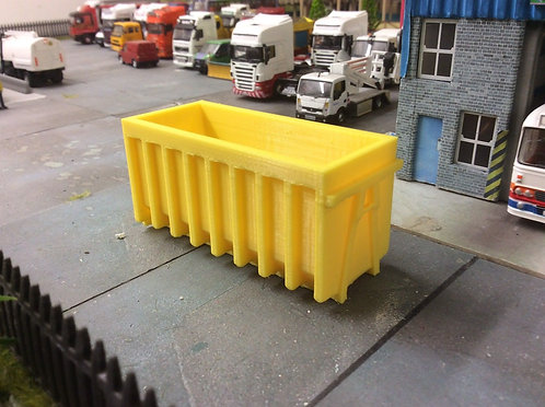 1:76 3D Printed Yellow Skip