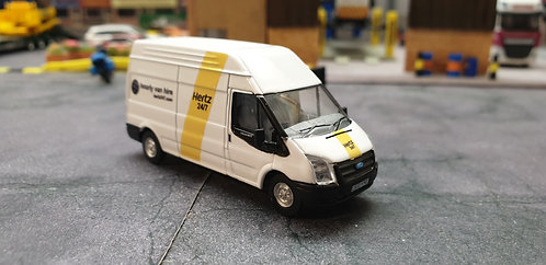 1/76 Code 3 Hertz Van hire high roof Ford Transit