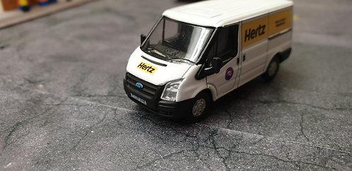1/76 Code 3 Hertz Van hire Flat roof Ford Transit