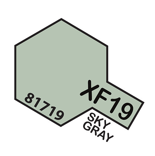 Tamiya 10ml  XF-19 Sky Gray