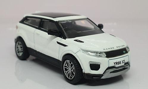 1:76 Oxford Diecast Range Rover Evoque Coupe Fuji White