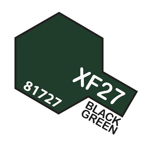 Tamiya 10ml  XF-27 Black Green