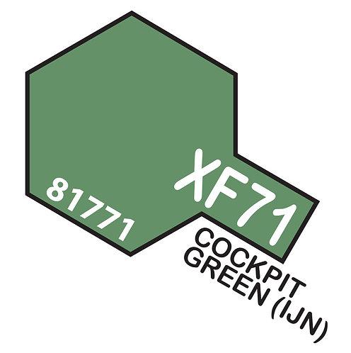 Tamiya 10ml  XF-71 Cockpit Green 2