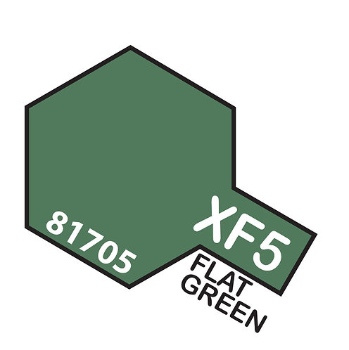 Tamiya 10ml  XF-5 Flat Green