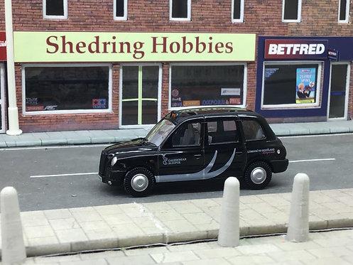 "1:76 Caledonian Sleeper ""Caledonian Logo""Oxford Diecast Taxi"