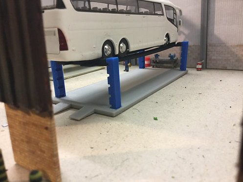 1.76 3D Printed HGV 4 Post Ramp