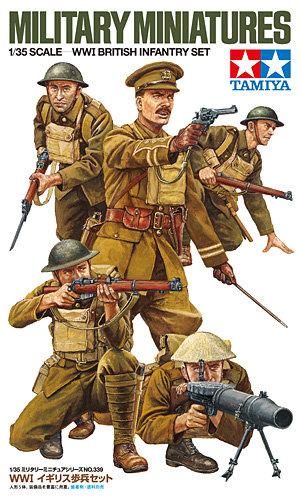 Tamiya 1:35 WWI British Infantry set