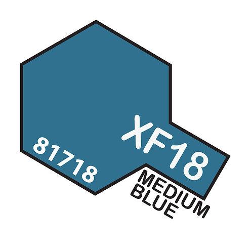 Tamiya 10ml  XF-18 Medium Blue