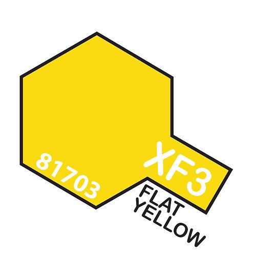 Tamiya 10ml  XF-3 Flat Yellow