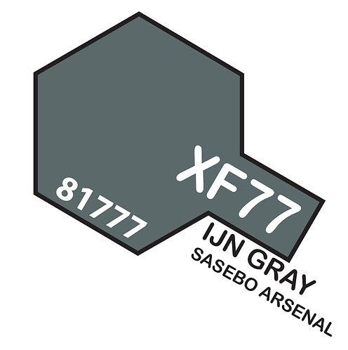 Tamiya 10ml  XF-77 IJN Gray SASEBO ARSENAL