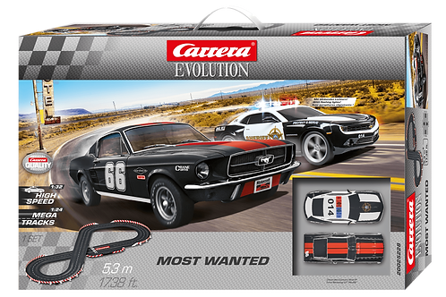 1:32 Carrera Most Wanted 5.3m