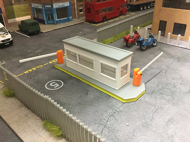 1.76 Security barrier hut/ Gate house