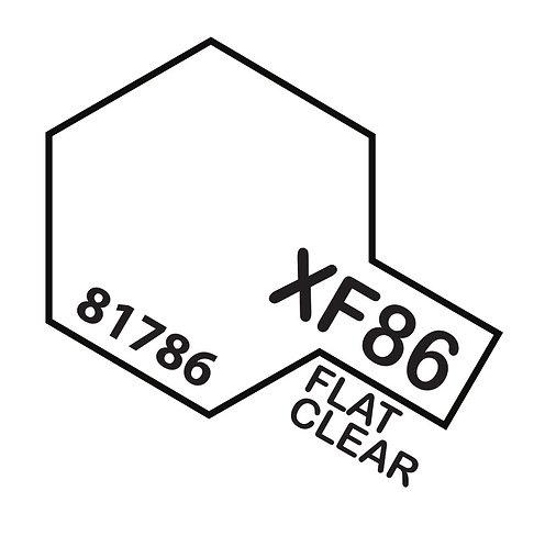 Tamiya 10ml  XF-86 Flat Clear