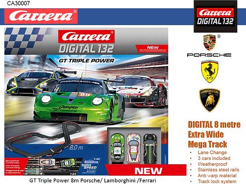 1:32 Carrera Formula Triple power 8.0m