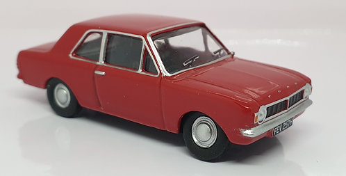 1:76 Oxford Diecast Ford Cortina MKII Red