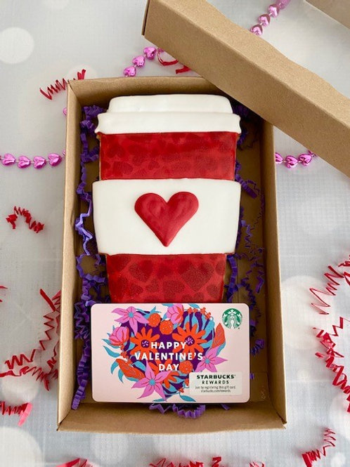 Coffee & Gift Card Cookie Set