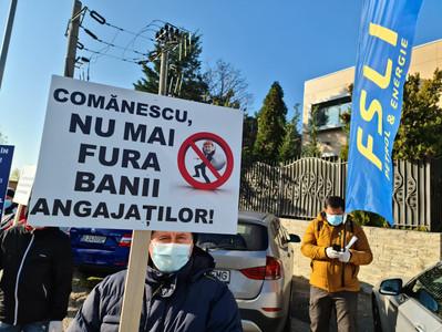 Primul protest în stradă împotriva abuzurilor contractorului GSP Offshore.