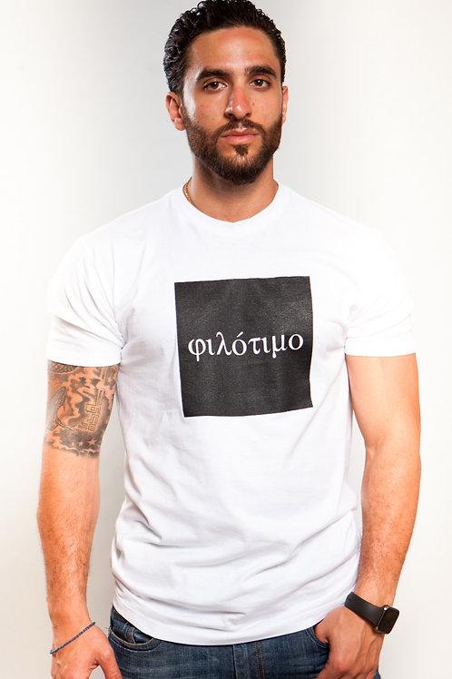 Filotimo Black on White