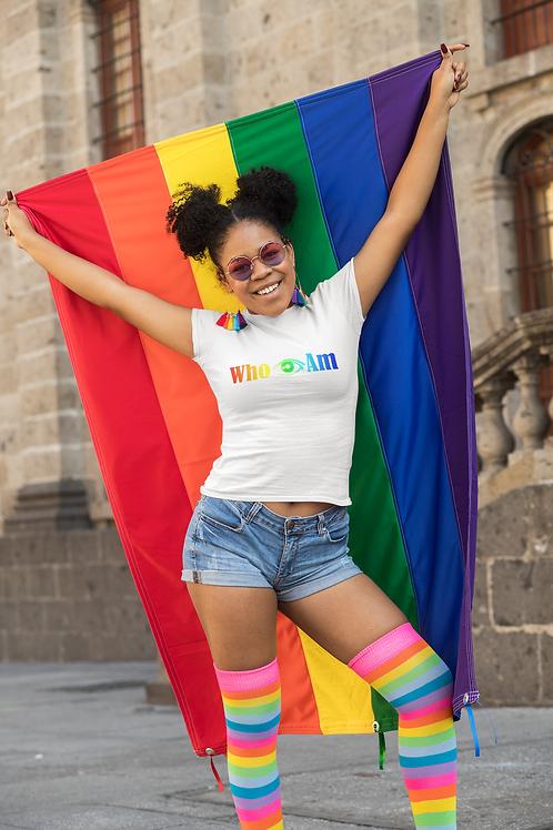 Who 👁 Am Rainbow Shirt