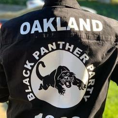 Custom Black Panther Party Jacket