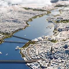 Istanbul Halic Coastline Renovation
