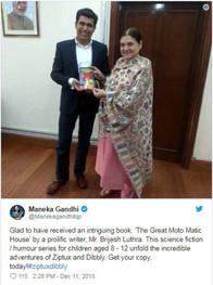 Maneka Gandhi Tweet