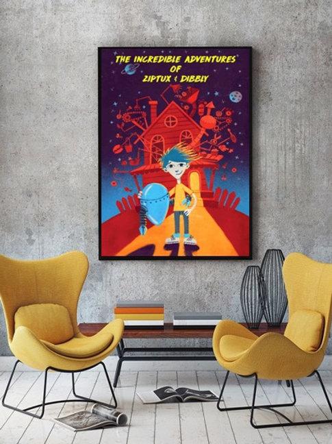 Ziptux & Dibbly poster