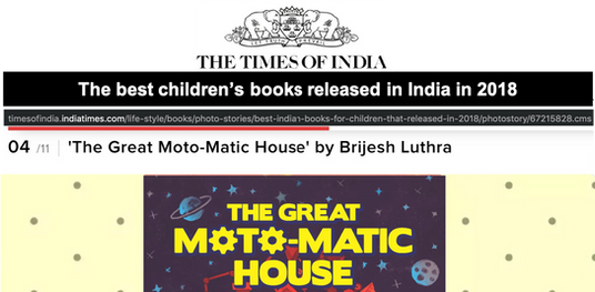 Top 10 childrens book released in India in 2018