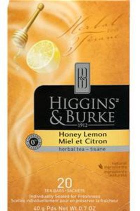 Higgins & Burke Honey Lemon Herbal Tea