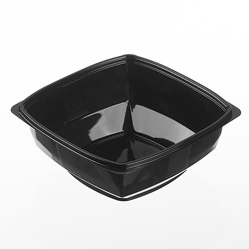 Parpak 48oz Square Black Bowl