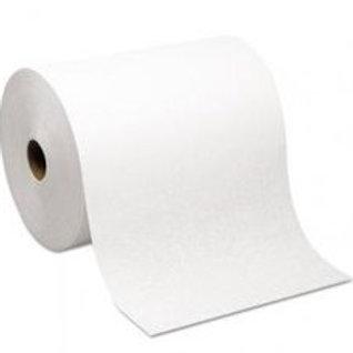 "Classique 8"" White Roll Towel"