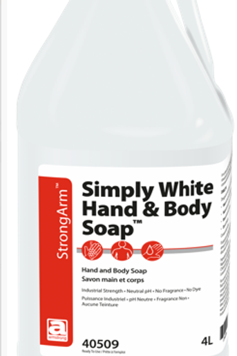 Simply White Hand & Body Soap