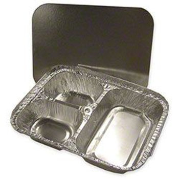 3-Compartment Combo Foil Container