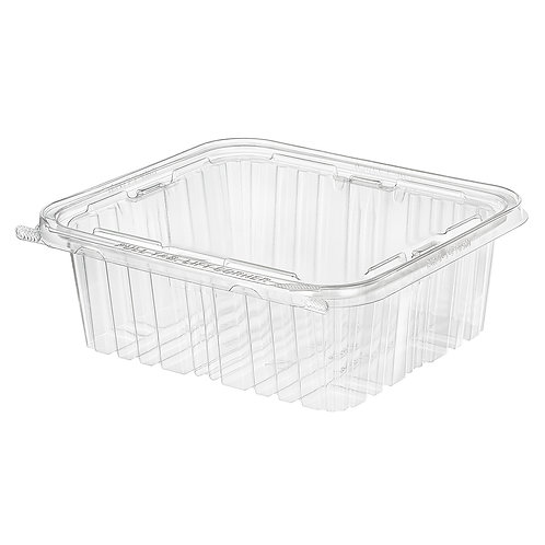Container Plastic 64oz Hinged