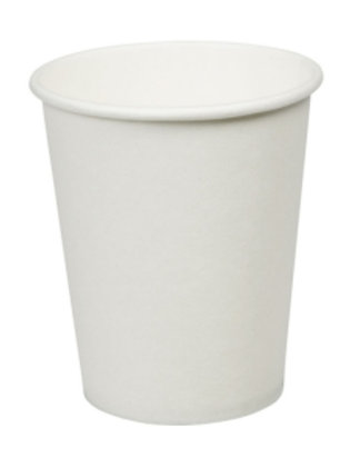 Genpack 8oz White Paper Cup