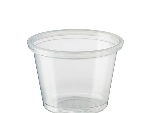 Clear 1oz Portion Cup