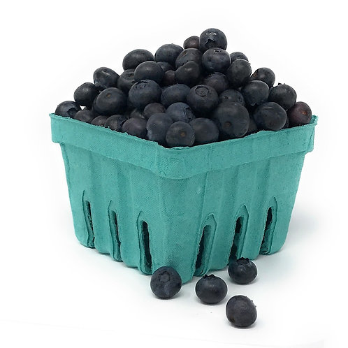 One Pint Fibre Berry Container