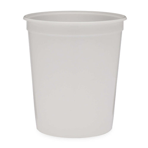 PP White Plastic 32oz Container
