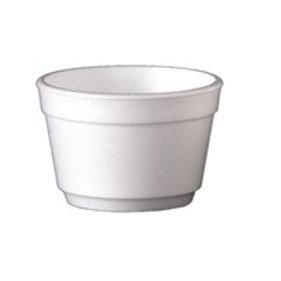 Dixie 3.5oz Styrofoam Tub
