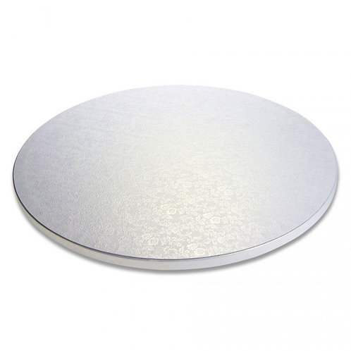 "16"" Silver Cakeboard"