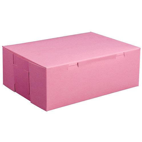 "Double Cupcake Pink Box 8 x 4 x 4 """