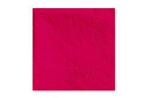 Hoffmaster 2-Ply Red Cocktail Napkins