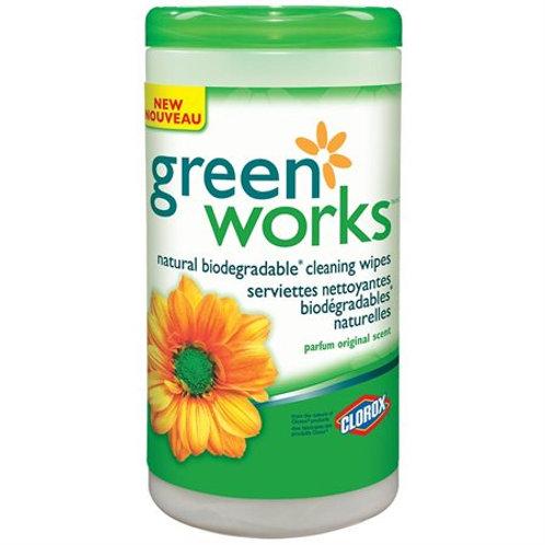 Greenworks Compostable Wipes