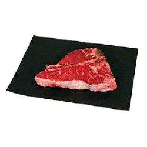 """9"""" x 12"""" Black Steak Paper"""