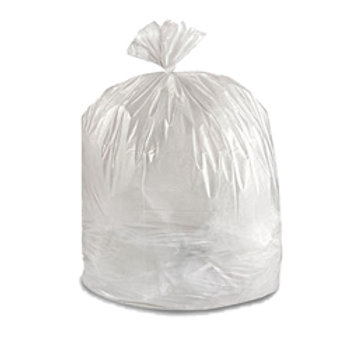 "26"" x 36"" Clear Garbage Bags"
