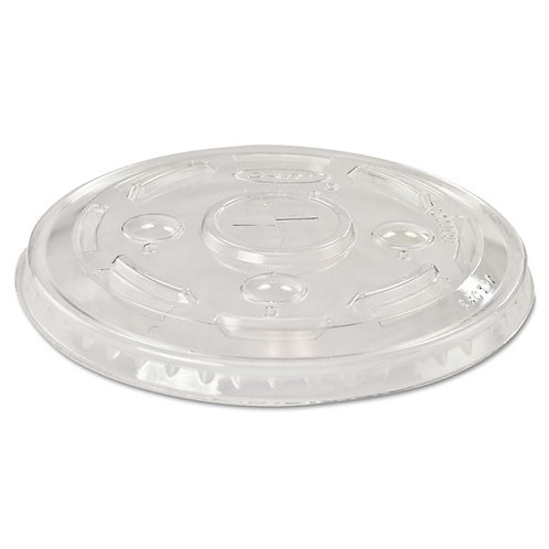 Clear Straw Slot Lid for 16-24oz Genpak Cups