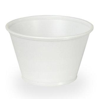 Dixie 5.5 oz. Plastic Portion Cups