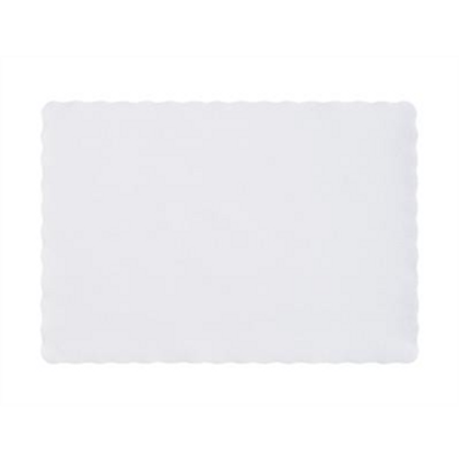 """9.5""""x13.5"""" Scallop Placemats"""